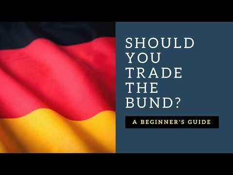 Trading the German 10 Year Bond - The BUND