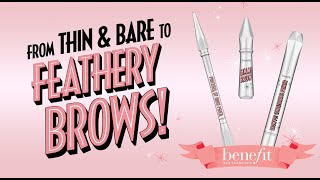 Barely There to Feathery Brow Tutorial