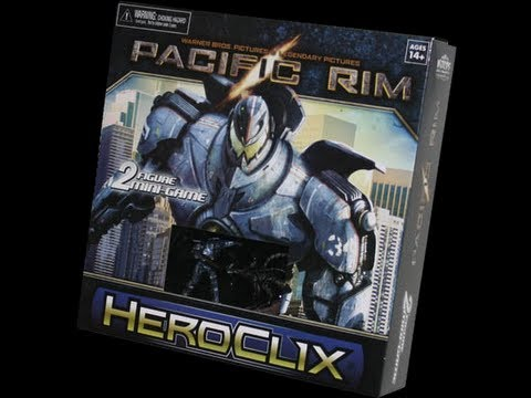 Pacific Rim Heroclix Mini Game Unboxing