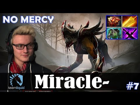 Miracle - Lifestealer Safelane | NO MERCY | Dota 2 Pro MMR Gameplay #7