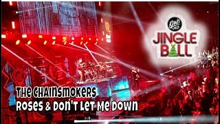 The Chainsmokers - Roses & Don't Let Me Down | KDWB Jingle Ball | StewarTV