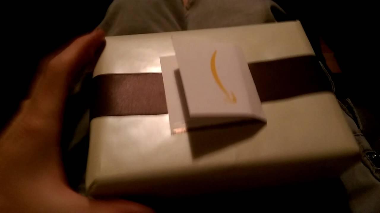 Amazon gift wrap fail - YouTube