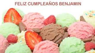 BenjaminEspanol pronunciacion en espanol   Ice Cream & Helados y Nieves - Happy Birthday