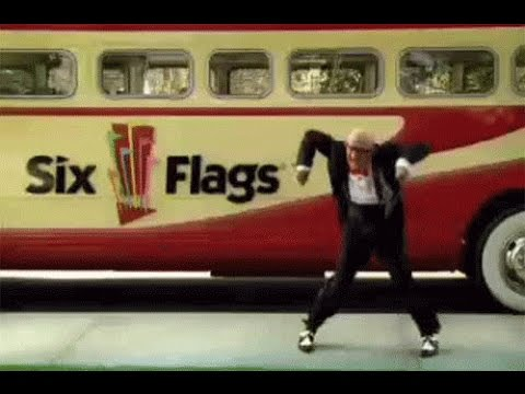 Original Six Flags Mr Six Its Playtime Tv Commercial 2004