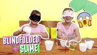 Blindfolded Slime Challenge! | JKrew