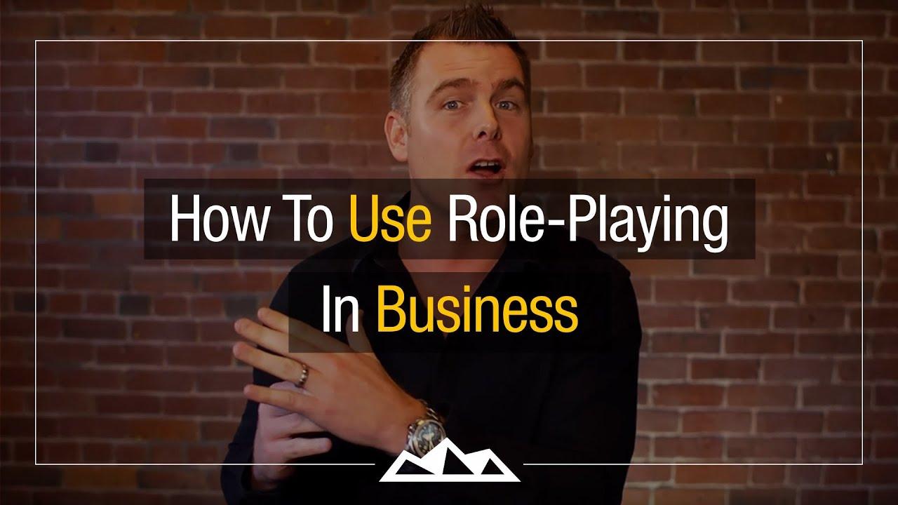 Role plays scenarios