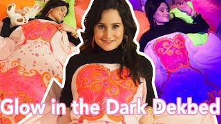 Glow in the Dark Dekbed - DIY | Jill