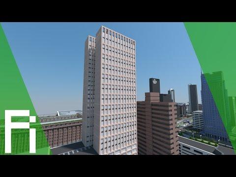 Rotterdam In Minecraft - Central District
