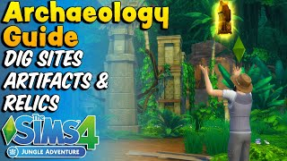Sims 4: Archaeologist Guide (Jungle Adventure Game Pack)