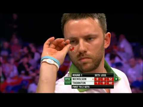 PDC World Grand Prix 2013 - First Round - Nicholson VS Thornton