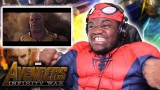 HYPE! Avengers: Infinity War Official Trailer : REACTION!!