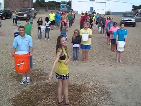Oktaha High School Band ALS Awareness Ice Bucket Challenge