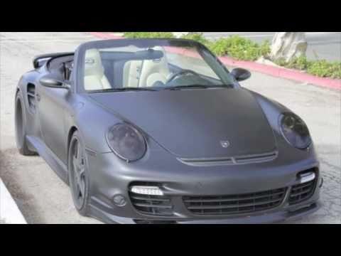 David Beckham Porsche 911 Turbo - Top Celebrity Car (HQ)