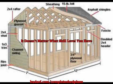 Learn how you can design and build your own shed plans for Design and build your own shed