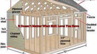 Learn How You Can Design And Build Your Own Shed Plans