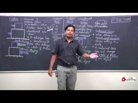Force and Laws of Motion - 01 For Class 9th