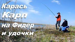 Рыбалка весной 2018 Карась, Карп на фидер