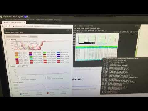 Banana Pi 24-core ARM server running Ubuntu 18.04