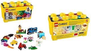 LEGO Classic Medium Creative Brick Box 10696: review