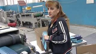 видео производство картонной упаковки технология