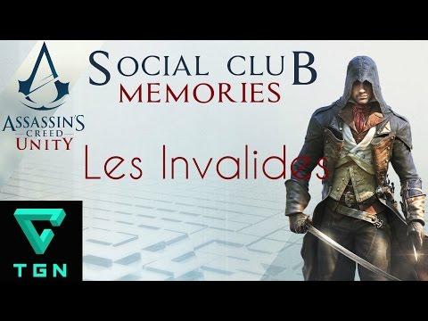 Assassin's Creed Unity Social Club Memories Les Invalides