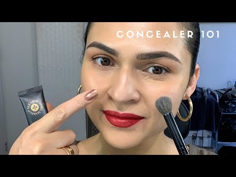 Concealer - Apply Before Or After Foundation?