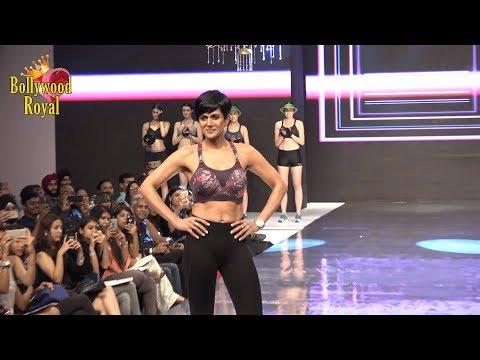 Mandira Bedi As Showstopper Triumph India Fashion Show 2018 Part 1