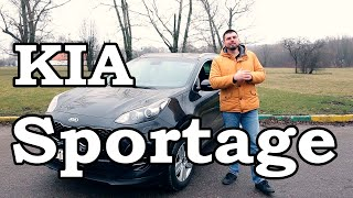 Kia Sportage обзор тест-драйв.