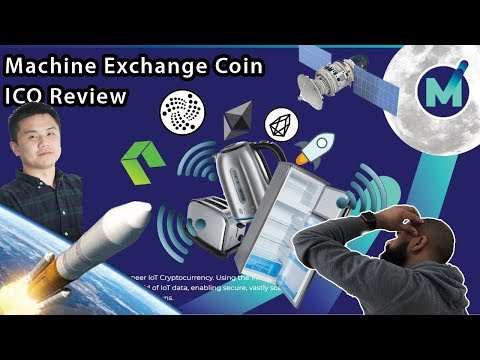 Machine Exchange Coin ICO Review - Live demo with Xin Hu (CEO) 😱😱😱😱