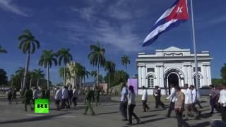 На Кубе завершилась церемония захоронения праха Фиделя Кастро