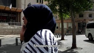 10 Hours of Walking in Israel as a Woman in Hijab