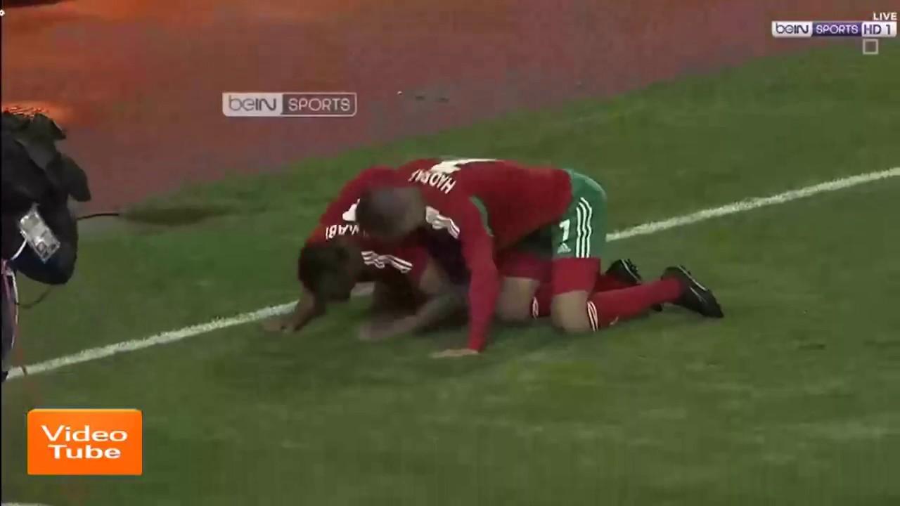 maroc  u2013 mauritanie r u00e9sum u00e9 du match chan 2018