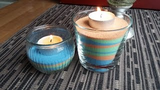 DIY Your own colored sand EASY TUTORIAL | Gör ditt eget färgade sand! Enkelt