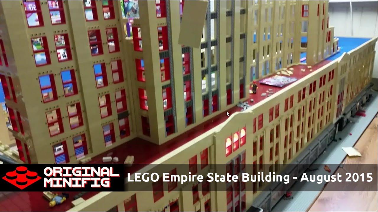 Large Empire State Building Replica