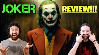JOKER - MOVIE REVIEW!!!