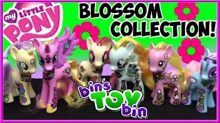 My Little Pony Friendship Blossom Collection 2015 Flower Ponies! Review by Bin's Toy Bin