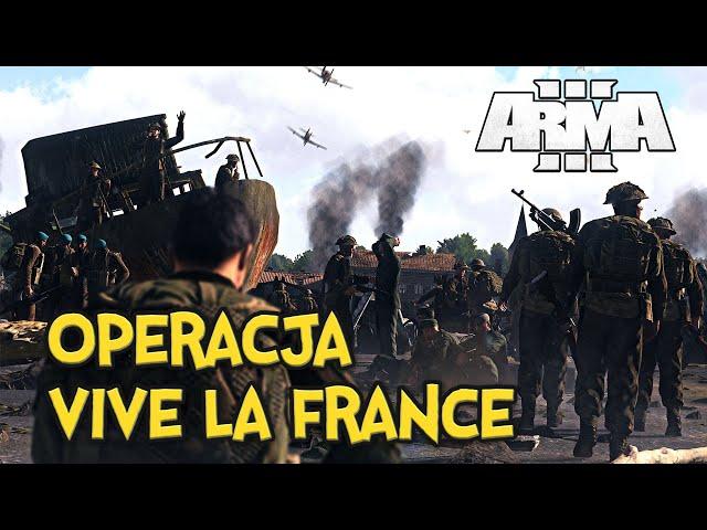 ARMA 3 RP   WIELKI CO-OP   OPERACJA: VIVE LA FRANCE   PL