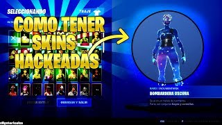 HOW TO HAVE SKINS *HACKED* AND HAVE PEOPLE SEE IT! FORTNITE