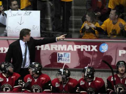 PATRICK ROY VS. SHAWINIGAN JUNIOR HOCKEY FAN 2009 PLAYOFFS LHJMQ CHL