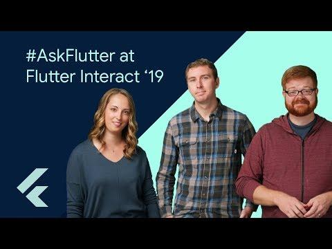 Don't miss #AskFlutter live at Flutter Interact '19!
