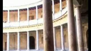Дворец Карла V в Гранаде .wmv(Подробнее:http://ola-varich.narod.ru/ Эскурсия по дворцу Карла V в дворцовом комплексе Альгамбра http://espantodo.com., 2010-02-21T14:28:30.000Z)