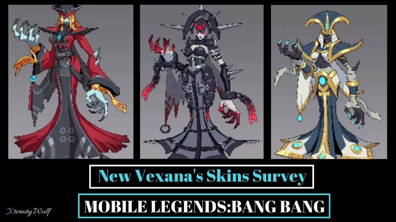 new vexana skins i mobile legends:bang bang i