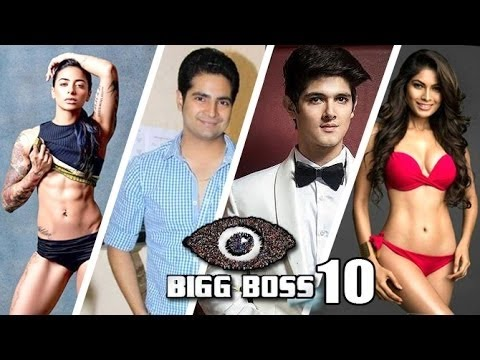 Salman Khan's Bigg Boss 10 Contestants Final List 2016