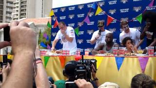 Joey Chestnut live