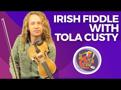 Irish Fiddle Lesson: Learn The Geese in the Bog (Jig) + Ornamentation with Tola Custy