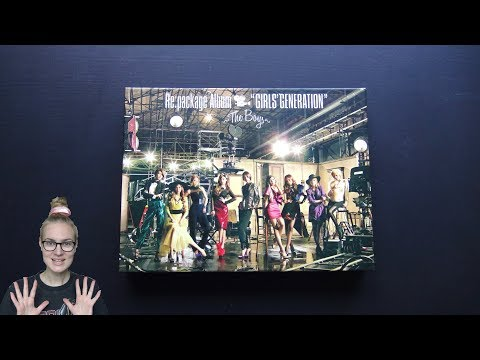 Unboxing Girls' Generation 1st Japanese Studio Album Re:package The Boys [Limited Edition]