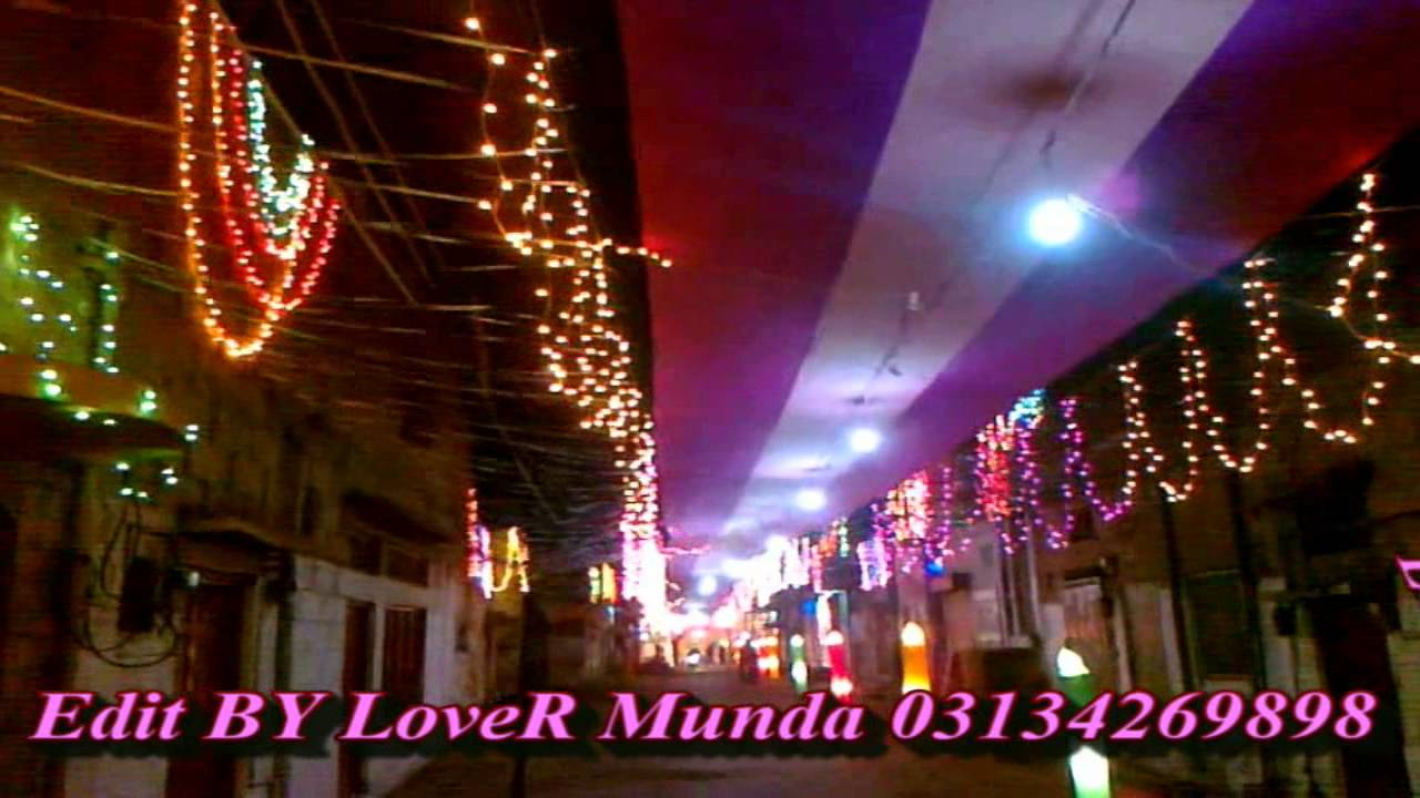 12 rabi ul awal decoration kasur road kot by lover munda for 12 rabi ul awal decoration