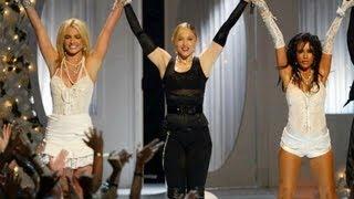 Madonna, Christina Aguilera y Britney Spears - VMA 2003