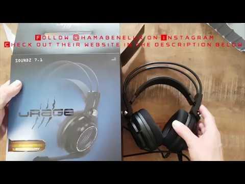 8495befa1e3 Hama uRage Soundz 7.1 Gaming Headset Unbox - YouTube