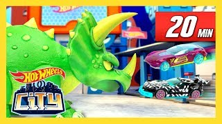 ULTIMATE DINO DEMOLITION | Hot Wheels City | Hot Wheels
